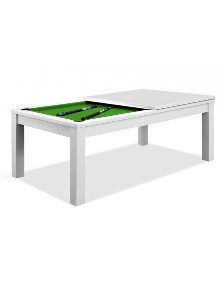 table manger billard blanc. Black Bedroom Furniture Sets. Home Design Ideas